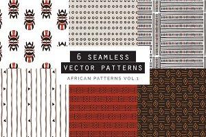 African Seamless Patterns vol.1