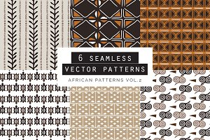 African Seamles Patterns vol.2