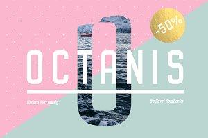 OCTANIS • Font Family {-50%}