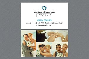 Photographer Business Card-V04