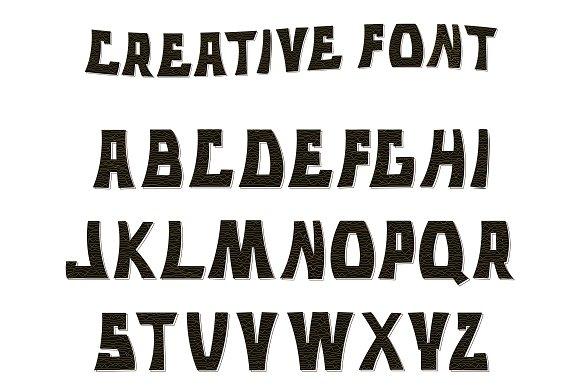 Letters. Alphabet. - Script