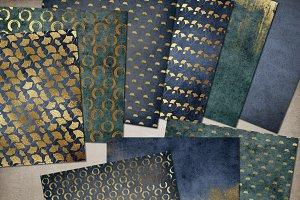 Gold Zen Digital Paper