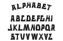 Letters. Alphabet.