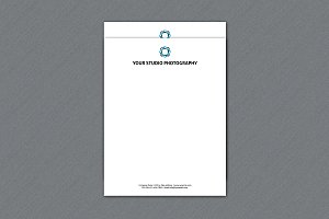 Photographer Letterhead -V245