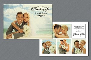 Photographer Thank You Card-V246