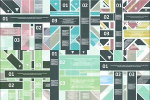 High Tech design for infographics