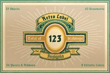 Retro Label/Insignia Vol.2
