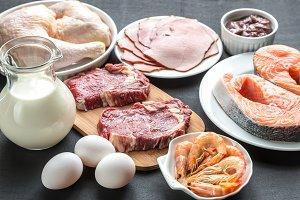 Protein diet food