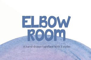 Elbow Room Font
