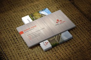 Homeon Business Card Template
