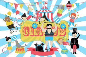 Circus Vector Illustration