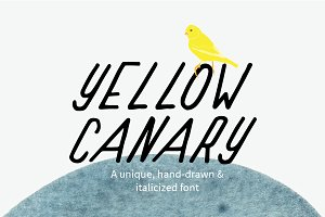 Yellow Canary Font