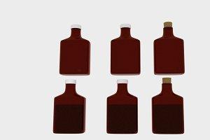Poison Liquid Bottle