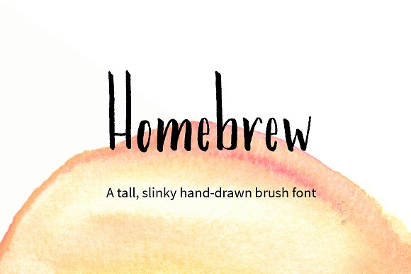 Homebrew Font