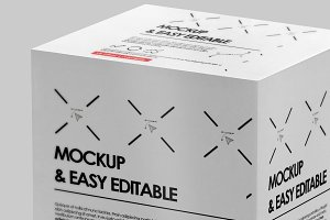 Package Box Mock-Up