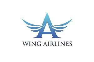 Wing Airlines Logo