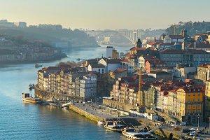 Porto quayside, Portugal
