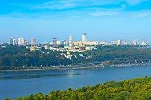 Top view of Kyiv, Ukraine