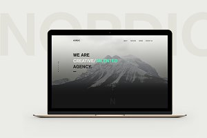Nordic PSD Template