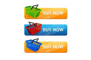 Sale Buttons. Vector