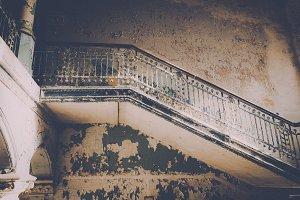Beautiful old Stairs (Vintage Look)
