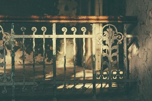 Beautiful old Stairs (Vintage Look)