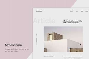 Atmosphere PSD Template