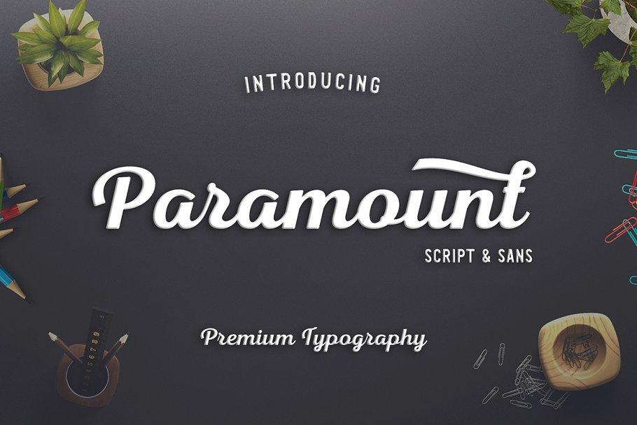 Paramount Script & Sans