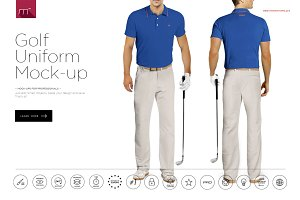 Golf Uniform Mock-up