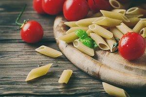 Raw integral pasta