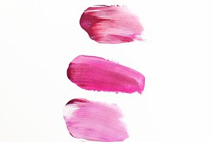 Bright Pink Paint Swatches
