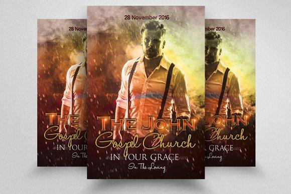 Faith Church Grand Opening Flyer