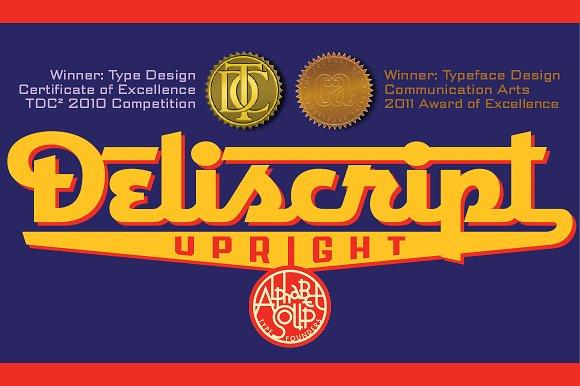 Deliscript™ Upright