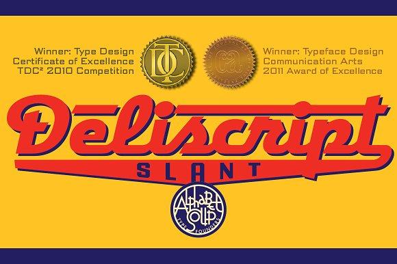 Deliscript™ Slant
