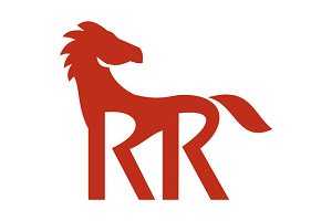 Red Horse Silhoutte RR Legs Retro