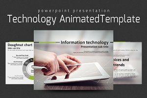 Technology Animated template