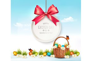 Holiday Easter Background