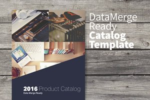 Data Merge Product Catalog