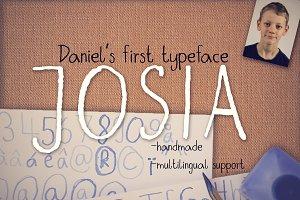 Josia Typeface