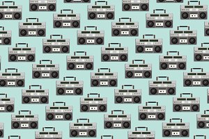 Tape recorder pattern
