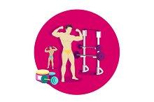 Bodybuilding Sport Concept