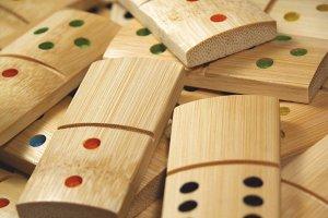 Bamboo dominoes