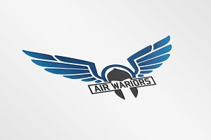 Air Wariors - Logo Template