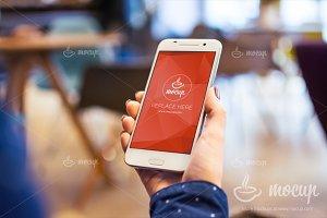 "Android HTC PSD Mockup La Boheme ""D"""