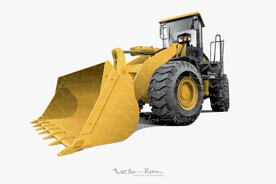 Large Front-end Loader