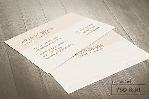Event Planner - Business Card