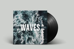 Waves - Vinyl Cover