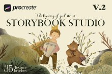 Storybook studio v.2 procreate by  in Add-Ons