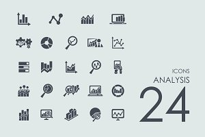 24 Analysis icons