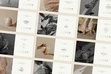 Freyja | Logo Kit for Brand Stylists by  in Templates